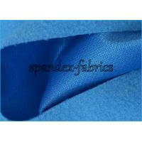 China Knitted Mercerized Velvet Brushed Polyester Fabric / Garments Brushed Knit Fabric on sale