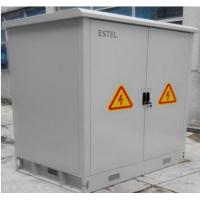 Buy cheap Double Wall Steel Outdoor Battery Cabinet / IP55 Base Station Cabinet from wholesalers