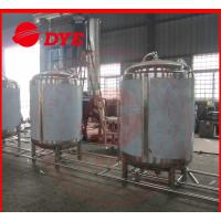 Buy cheap Super Bright Beer Storage Tank Direct Fire / Electric / Steam Heating product