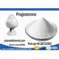 Buy cheap Micronized White Anabolic Steroid Powder Hormone Progesterone CAS  57-83-0 product