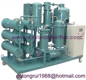 China Vacuum hydraulic oil recycling machine on sale