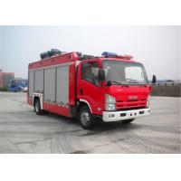 Buy cheap ISUZU Chassis Light Fire Truck 4x2 Drive Type 6705×2200×3210mm Dimension product