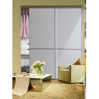 Buy cheap CY-ZG1601A Wardrobe White Glass Sliding Door, Modern Decorative Closet Sliding from wholesalers