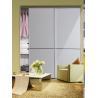 Buy cheap CY-ZG1601A Wardrobe White Glass Sliding Door, Modern Decorative Closet Sliding from wholesalers