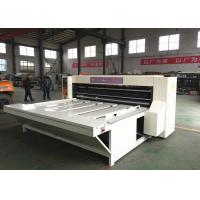 Buy cheap 4.0 KW Main Motor Power Carton Die Cutting Machine Rotary Die Cutter Forming Machine product