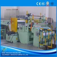 Buy cheap Customized Steel Coil Slitting Machine , Metal Slitting Machine 220V With SKD11 Blade product