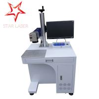 Buy cheap Keyboard Portable Fiber Laser Marking Machine Compact Without Consumptive Materials product