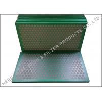 Buy cheap Higher Conductance Shake Screen, Mud Cleaner SS 304 Shale Shaker Mesh Screen from wholesalers