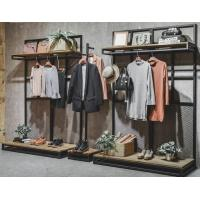 Buy cheap Commercial Clothing Display Racks Hanging Iron Display Shelf 30*40*1.6mm product