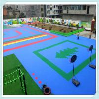 China Outdoor pp interlocking flooring for basketball court on sale