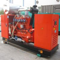 China Dustproof Gas Backup Generator Natural Gas Generator , Fuel Consumption , 25 - 550kw on sale
