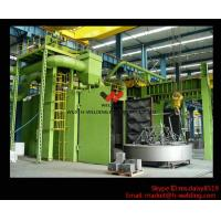 Buy cheap H beam Production Line Shot Blasting Machines for Rust Removing And Polishing of Surface product