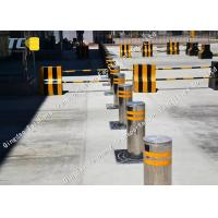 Buy cheap Remote Control Bollards Removable Parking Posts For Military Base / Prison product