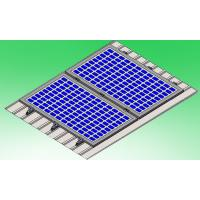 China Static Reliability Solar Mounting Brackets Metal Sheet Tin Roof Structures on sale
