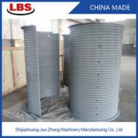 Buy cheap Double Grooved Lebus Sleeve For Multilayer Spooling , 10-50mm Rope Dia product