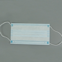 Buy cheap Meltblown Filter Disposable 3 Ply Earloop Face Mask product
