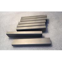 Buy cheap Excellent Toughness Tungsten Carbide Flat Stock High Flexural Strength Good Chemical Stability product