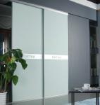 Buy cheap CY-ZG103A Bedroom Glass wardrobe Closet Sliding Door, Dustproof Aluminum Interior Sliding Door Factory product