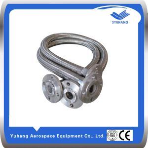 Buy cheap L'acier inoxydable a ridé le tuyau, tuyau à haute pression en métal, tuyau tressé flexible product