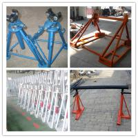 Buy cheap Hydraulic cable drum jack,Hydraulic lifting jacks for cable drums product