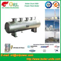 Buy cheap Low Pressure Alloy steel drum Boiler Mud Drum TUV with 10~1000ton product