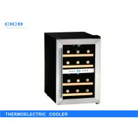 Buy cheap Small Thermoelectric Wine Refrigerator / Stainless Steel Wine Cooler product