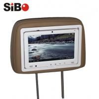 Buy cheap 9 inch Taxi Rear Seat Pillow Android Touchscreen Monitor with Advertising Management System product