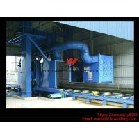 Buy cheap Roller Type H Beam Sand Blasting Machines With 8 Shot Blaster And Dust Collection System product