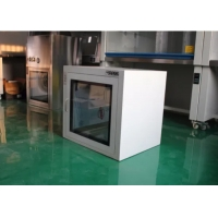 Buy cheap ISO5 Electronic Interlock Pharmaceutical Clean Room Pass Box Powder Coated product