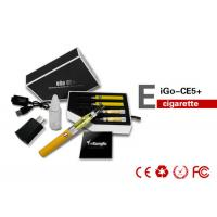 Quality 900mAh 14mm 2.1ML Health EGO CE5 E Cigarette With Changeable Coil for sale