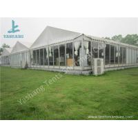 Buy cheap Outdoor Transparent Glass Wall Pagoda Party Tent for DIY Shop , 12 x 18M from wholesalers