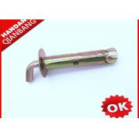 Buy cheap M8~M10 Zinc Plated J Hook Anchor Bolts With Sleeve For Water Heaters 4.8  8.8 Grade product