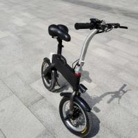 Buy cheap CE FCC Certification 36v 400w Folding Electric Bicycle , Fold Up Electric Bike from wholesalers