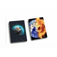 Buy cheap Lenticular PP / PET 45 Sheets 3D Flip Notebook A4 / A5 / A6 Size Plastic Hard Cover from wholesalers