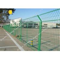 Buy cheap Road Guardrail Steel Mesh Fencing Dipped Galvanized Oxidation Resistance product