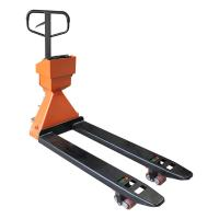 Buy cheap Heavy Duty Pallet Truck With High Light LCD Display Lifting Height 8 - 19cm product