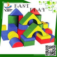 Buy cheap Colorful Soft Play Sponge , Soft Baby Blocks D4605 No Toxic For Preschool product