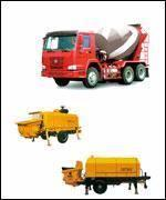 Concrete Mixer Truck & Concrete Trailer Pump