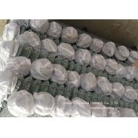 Quality Gal. Chain Link Fencing / Woven Diamond Shape Mesh Fence For Farm for sale