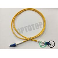 Buy cheap LC / UPC - LC / UPC OS2 Single Mode Optical Patch Cord 2f Zip 2.0mm Ofnr Corning Smf-28 Ultra product