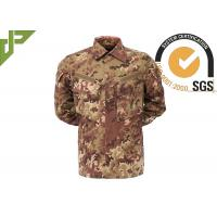 Buy cheap 100% Cotton Army Digital Camo Uniform , Tactical Security Uniforms For Men European Style product