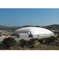 China Durable Super Giant Inflatable Tent White Air Building Structure For Tennis Playing wholesale