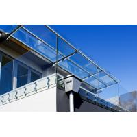 Buy cheap Deck railing designs with Stainless Steel glass standoff decorative porch railing product