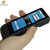 Quality IP65 Portable Digital Assistant Barcode Scanner Devices Raypodo Android 4.1 With for sale