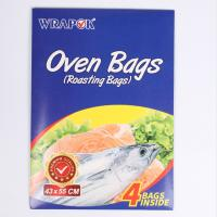 Buy cheap House Hold Use Clear Oven Plastic Bags , Microwave Cooking Bags For Meat product