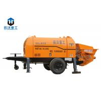 Buy cheap High Effective Trailer Mounted Concrete Pump Automatic Centralized Lubrication System product