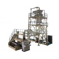 Buy cheap 3 Layer Co Extrusion Machine For LDPE Stretch Film / Food Grade Cling Film product