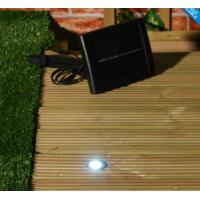 Buy cheap 6 WHITE SOLAR POWERED OUTDOOR GARDEN DECK LIGHTS product