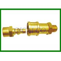 Brass Quick Connect Fitting Natural Gas