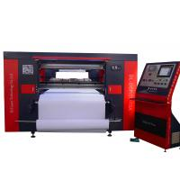 Large Automatic T Shirt Printing Machine CNC CO2 300 Watt For Clothing